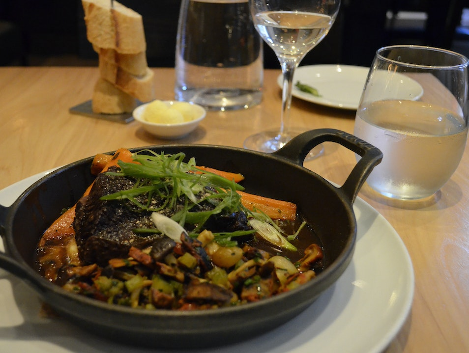 Cuisine of the Boreal Forest Quebec City  Canada