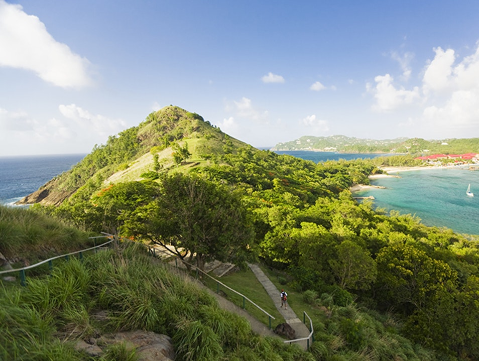 History, Nature, and Beach Time at Pigeon Island National Park
