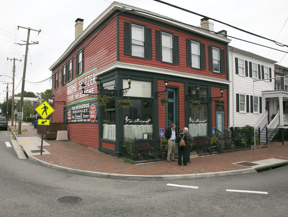 Updated Southern Cuisine in Historic Church Hill