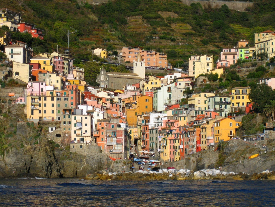 on the water Parco Nazionale delle Cinque Terre  Italy