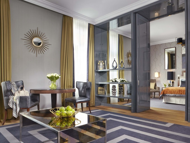 Edgy Rooms in a Historic Hotel at the Corinthia Budapest