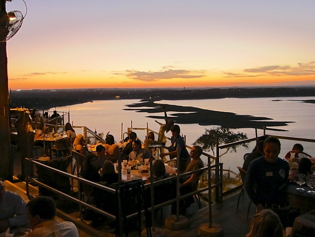 Best Sunset Cocktails in Texas