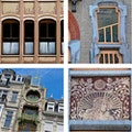Art Nouveau Walking Tour Saint Gilles  Belgium