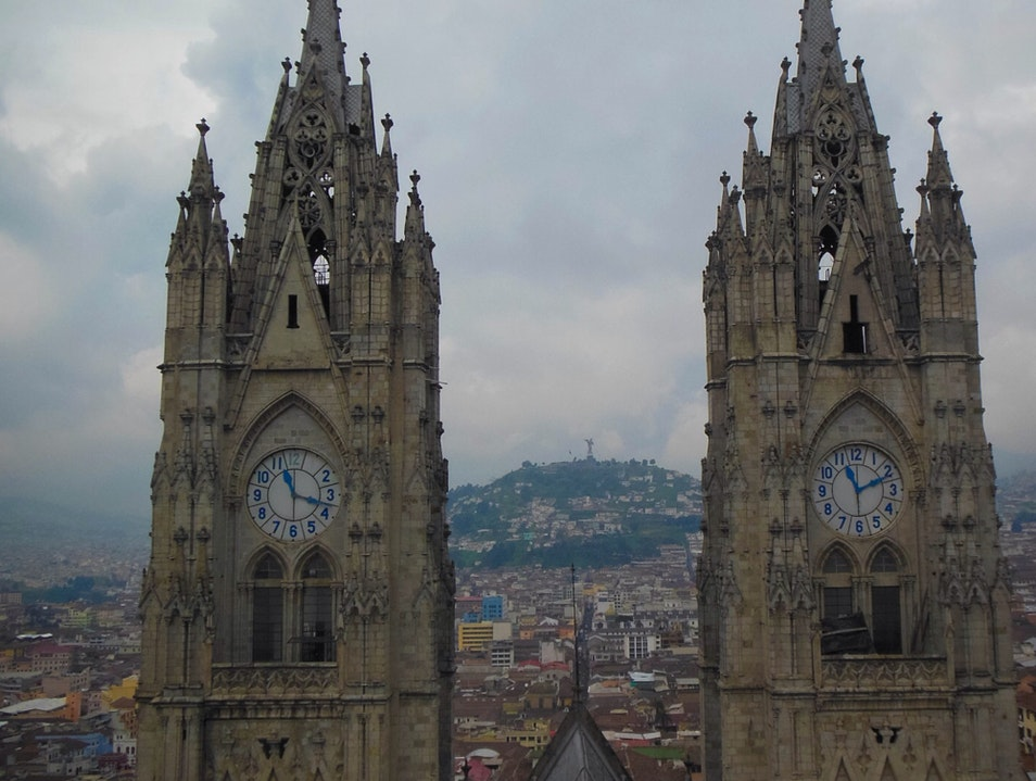 Great View of Quito Quito  Ecuador