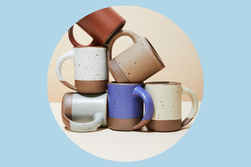 The East Fork mug is available in seven different colors.