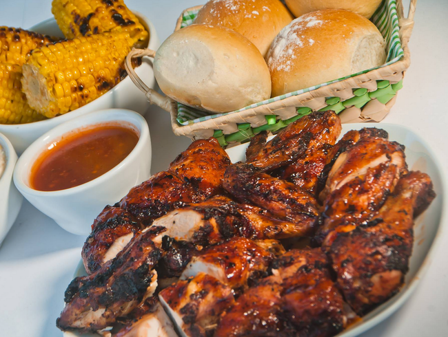 Mouth-watering, Authentic Jamaican Jerk Chicken