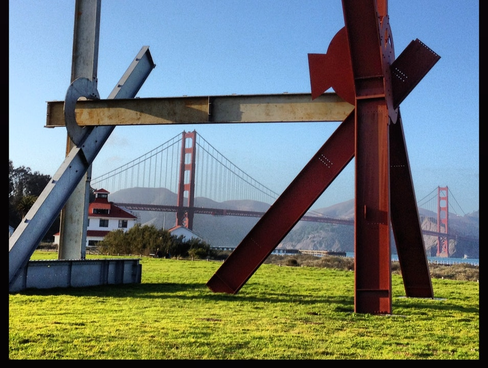 Crissy Field Sculptures San Francisco California United States