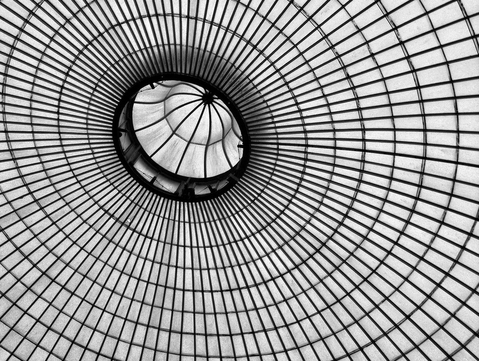 Inside The Kibble Palace Glass House Glasgow  United Kingdom