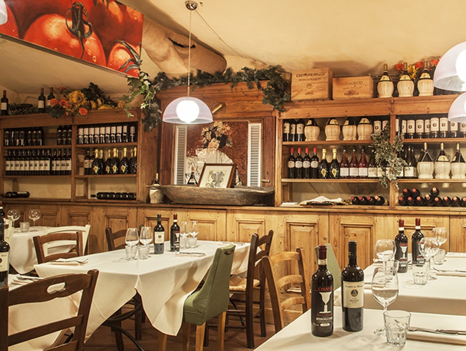 Osteria delle Belle Donne Florence  Italy
