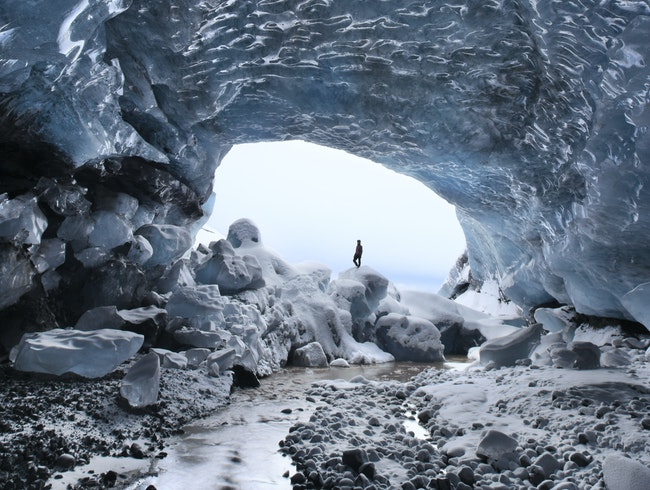 Explore Ice Caves in Style