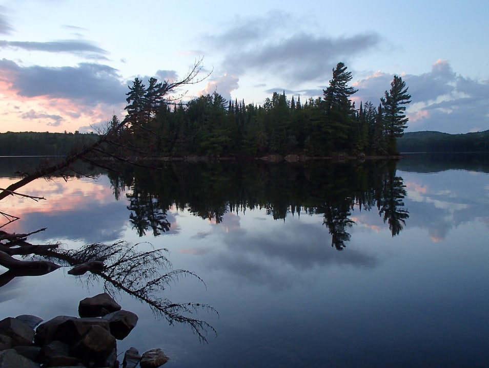 Paddle-in Camping in Algonquin Provincial Park Algonquin Provincial Park  Canada