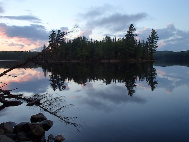 Paddle-in Camping in Algonquin Provincial Park