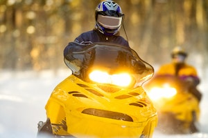 Mont Tremblant Snowmobiling