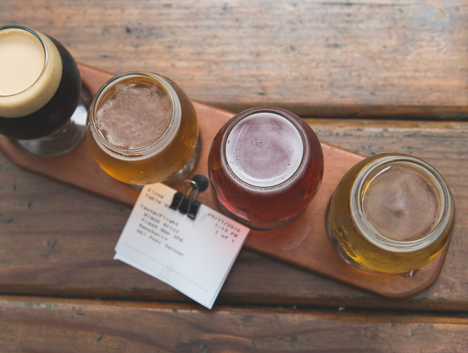 Sip and Sample At Carver Brewing Co