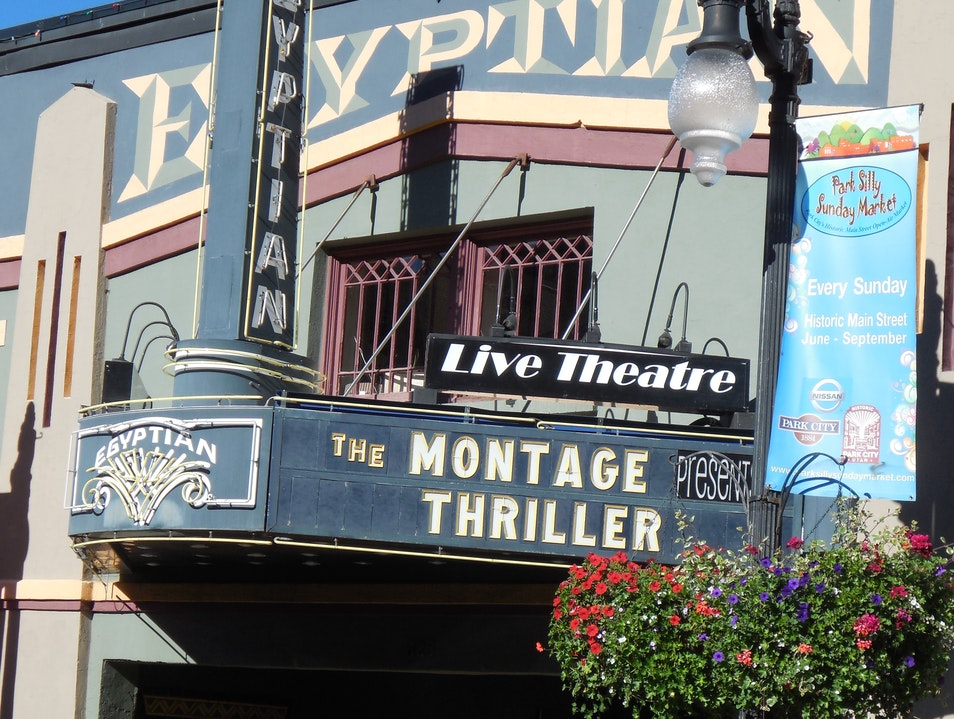 Take in a Show at the Egyptian Theatre