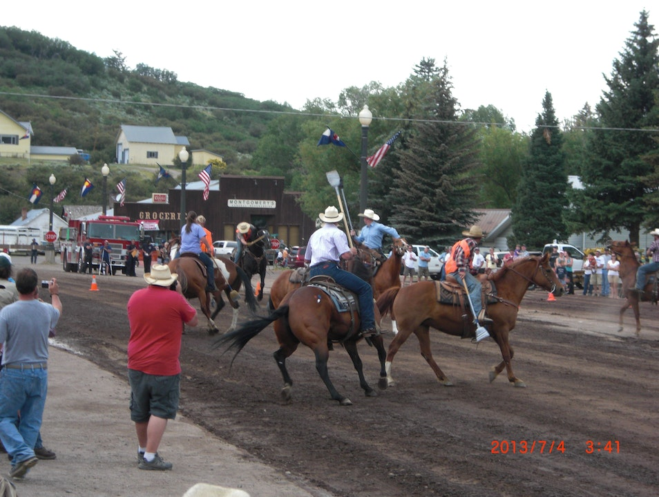 Fourth of July in Yampa, CO