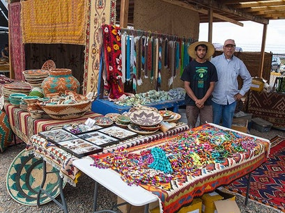 Tesuque Flea Market Santa Fe New Mexico United States