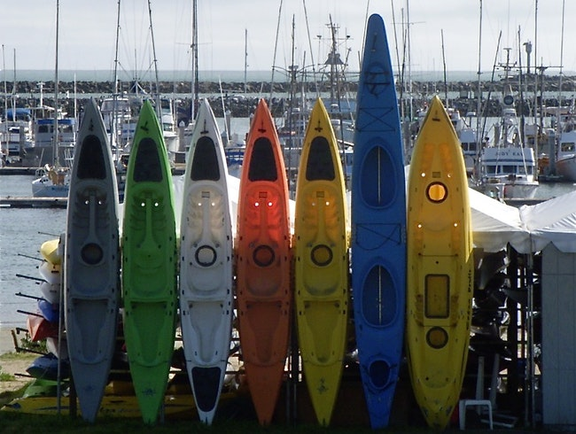 Unlikely Art: Kayak Faces