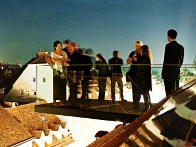 Exclusive Shopping and Rooftop Restaurant in Graz