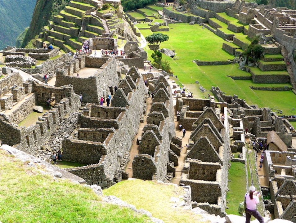 Inca Empire in the sky Santuario Historico Machu Picchu  Peru