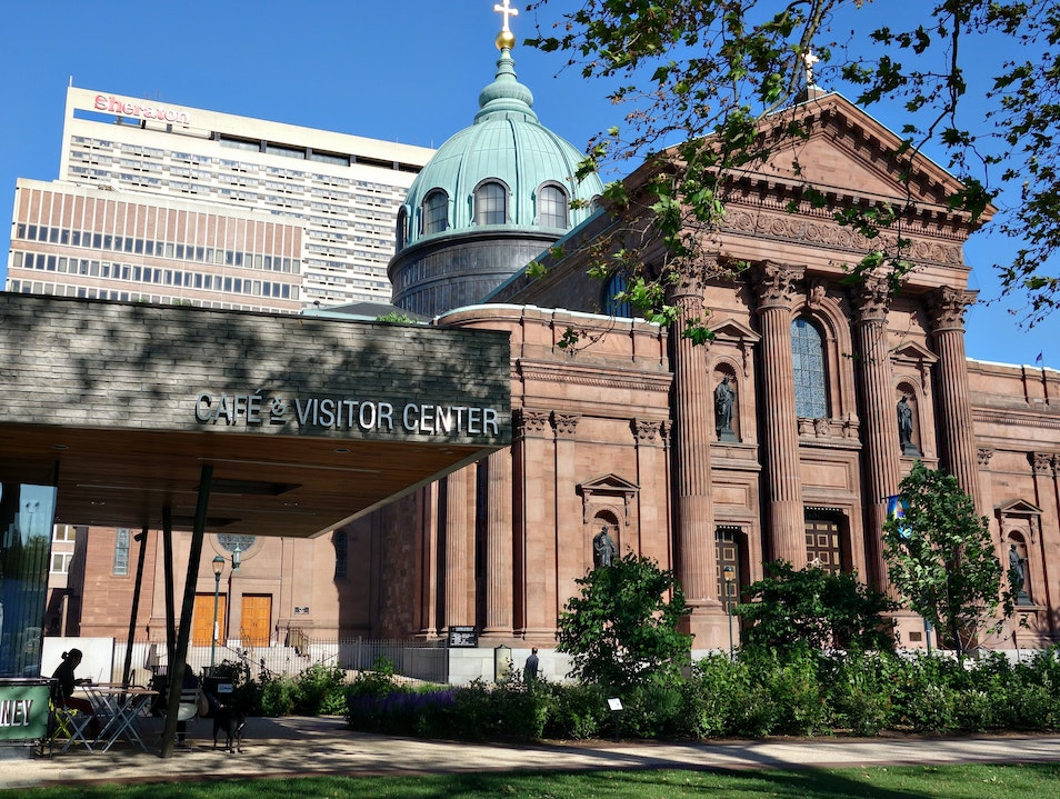 A family-friendly pit stop at Sister Cities Park Philadelphia Pennsylvania United States