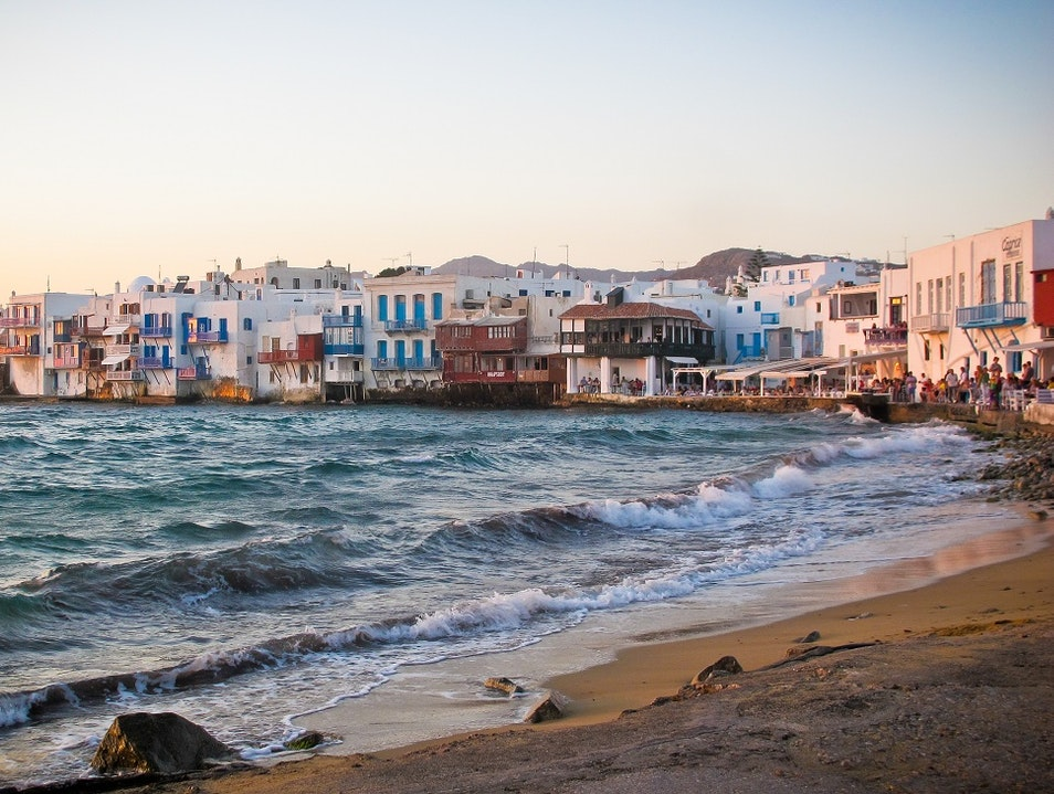 Little Venice - Mykonos, Greece