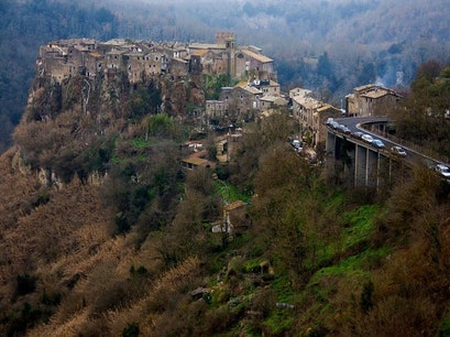 Oh, just a view of some Italian village Calcata  Italy