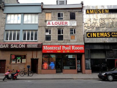 Montreal Pool Room Montreal  Canada