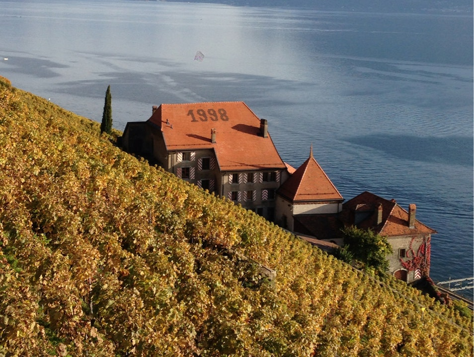 A Castle with a view Chexbres  Switzerland