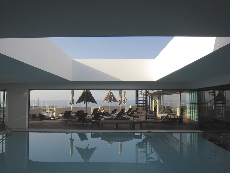 A pool like your very own James Turrell installation