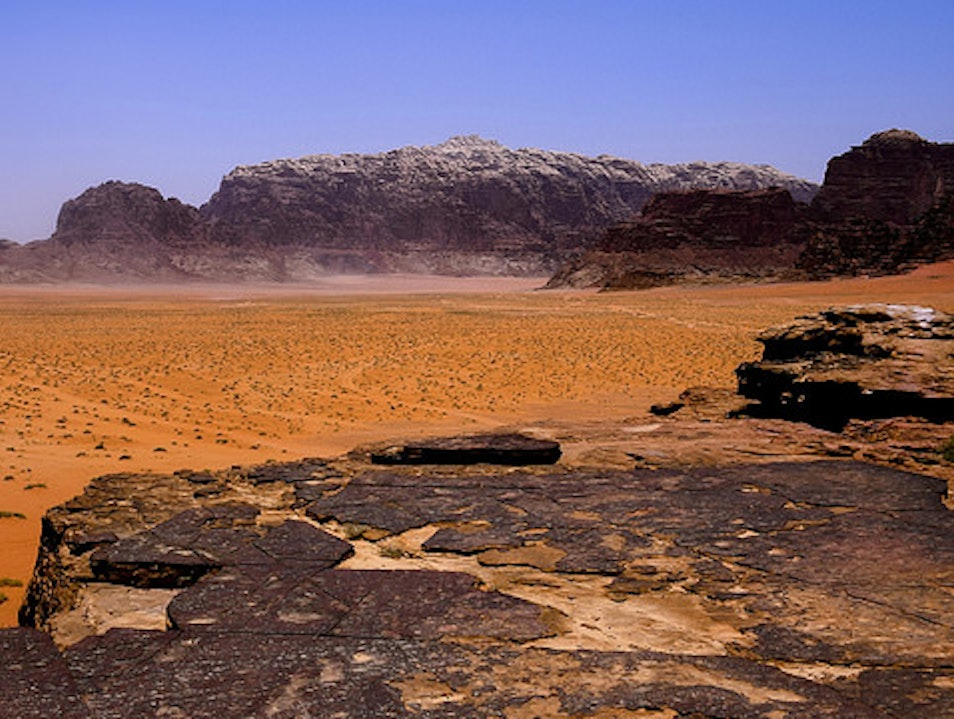 Scramble to the High Places of Wadi Rum