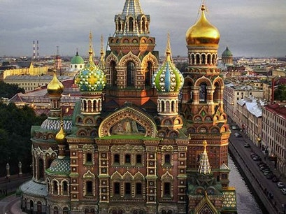Church of the Savior on Blood St. Petersburg  Russia