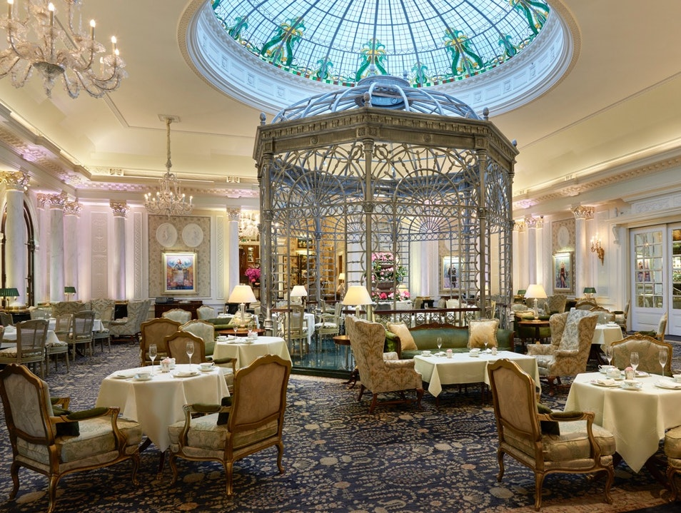 Enjoy Afternoon Tea, Dessert, and Cocktails in the Thames Foyer London  United Kingdom