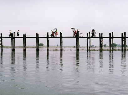 U Bein Bridge Mandalay  Myanmar