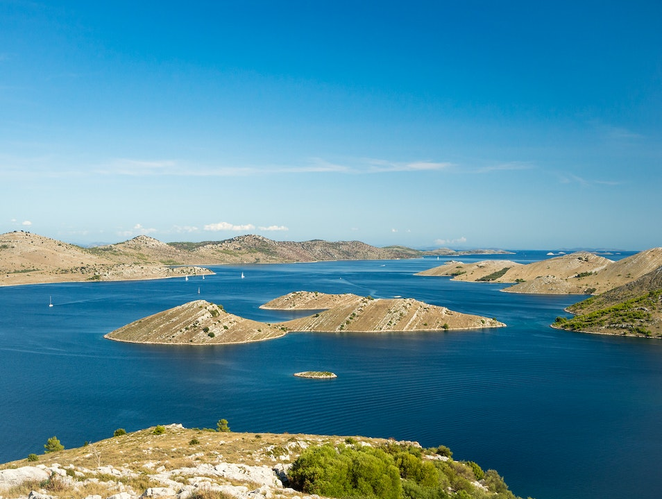 Kornati National Park Murter  Croatia