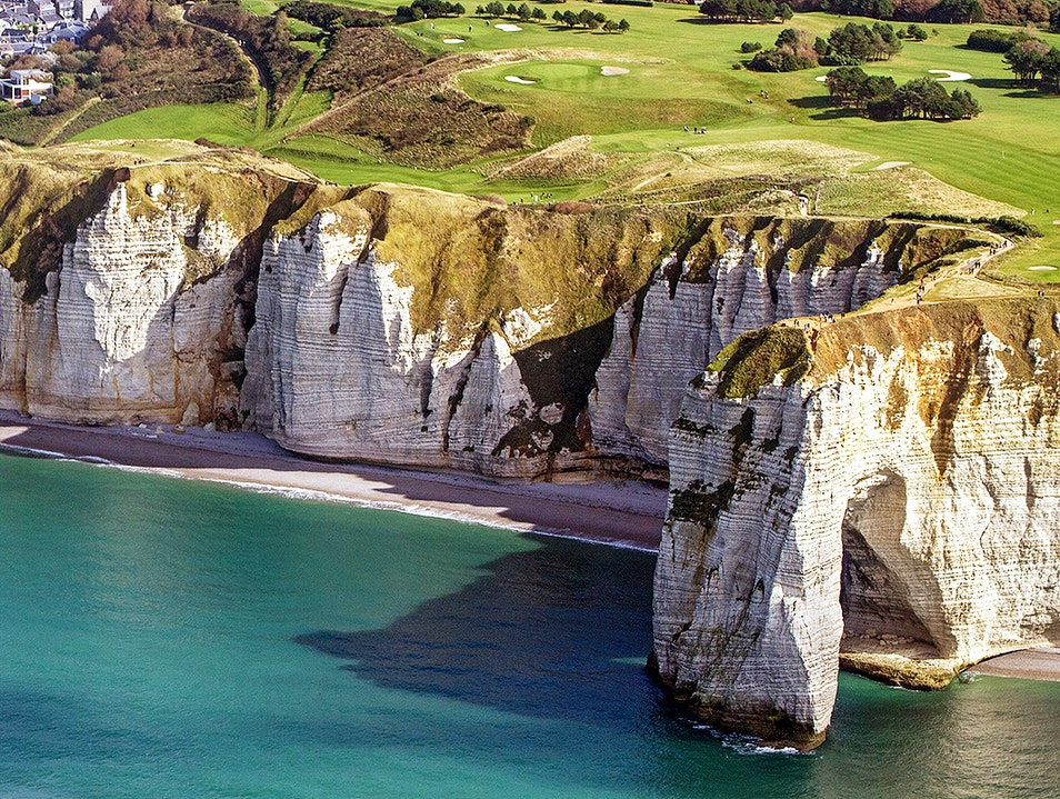 Cliffs of Étretat Étretat  France