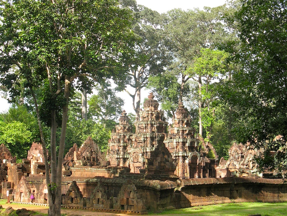 Leave the crowds behind Banteay Srei  Cambodia