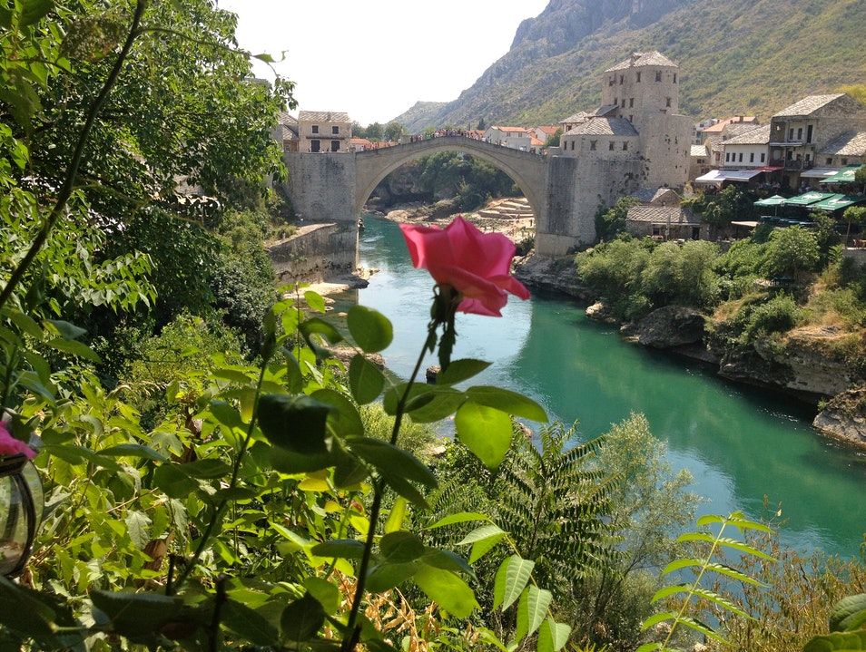 Savoring Ćevapi and the View in Mostar