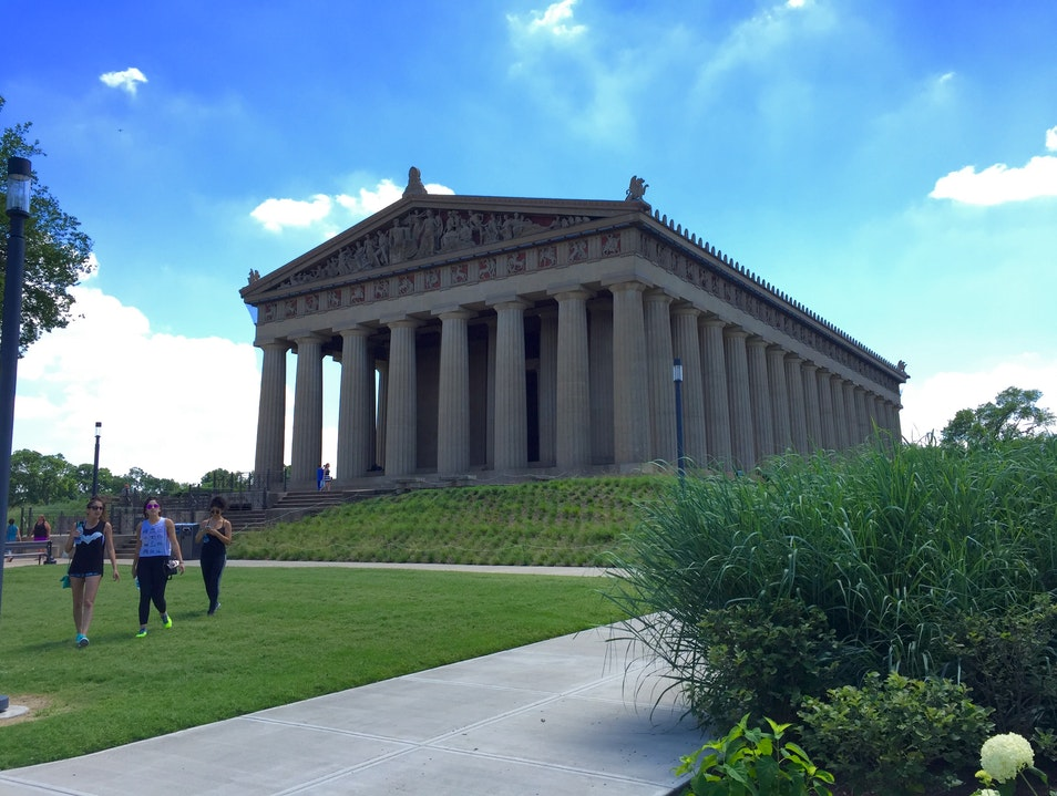The Parthenon Nashville Tennessee United States
