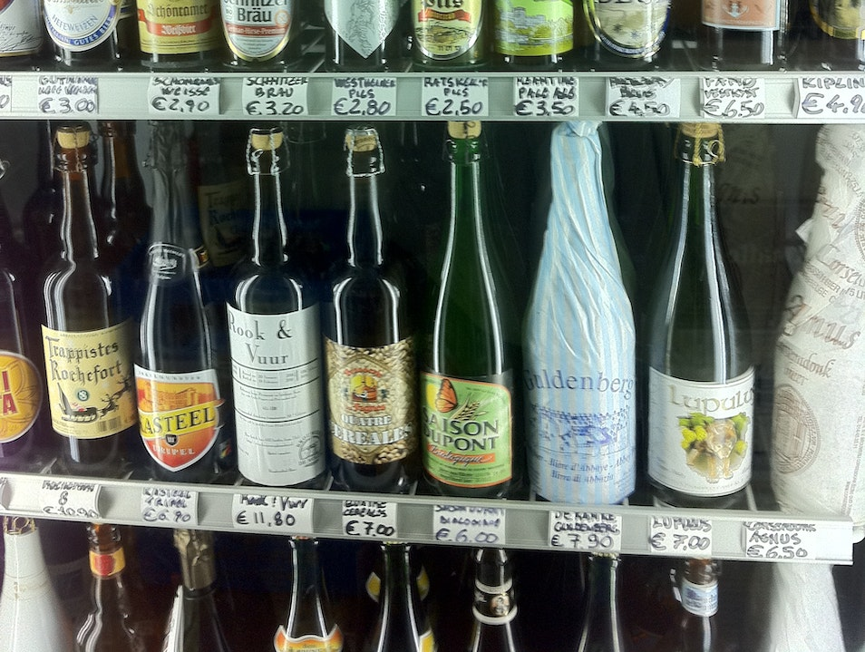 Rome's first craft beer shop