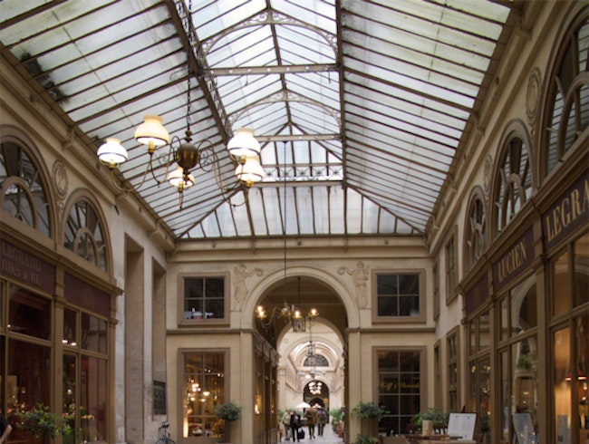 Galerie Vivienne - something different in Paris