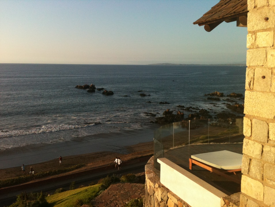 Relaxation on the Chilean Riviera