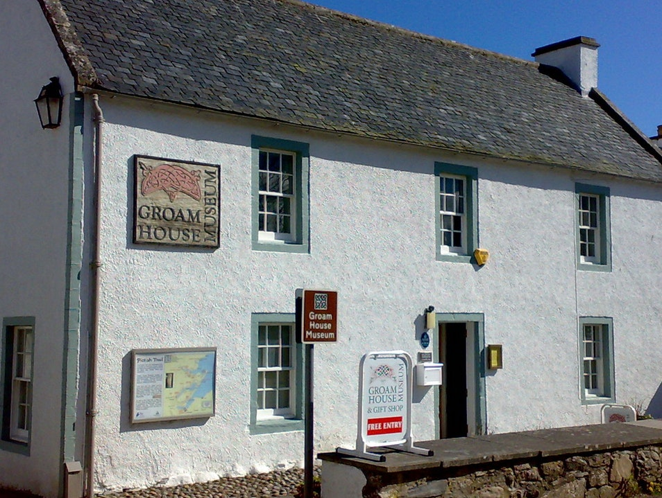 Groam House Museum Rosemarkie  United Kingdom