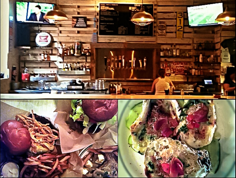 Burgers, Oysters and Beer in Kinston, NC