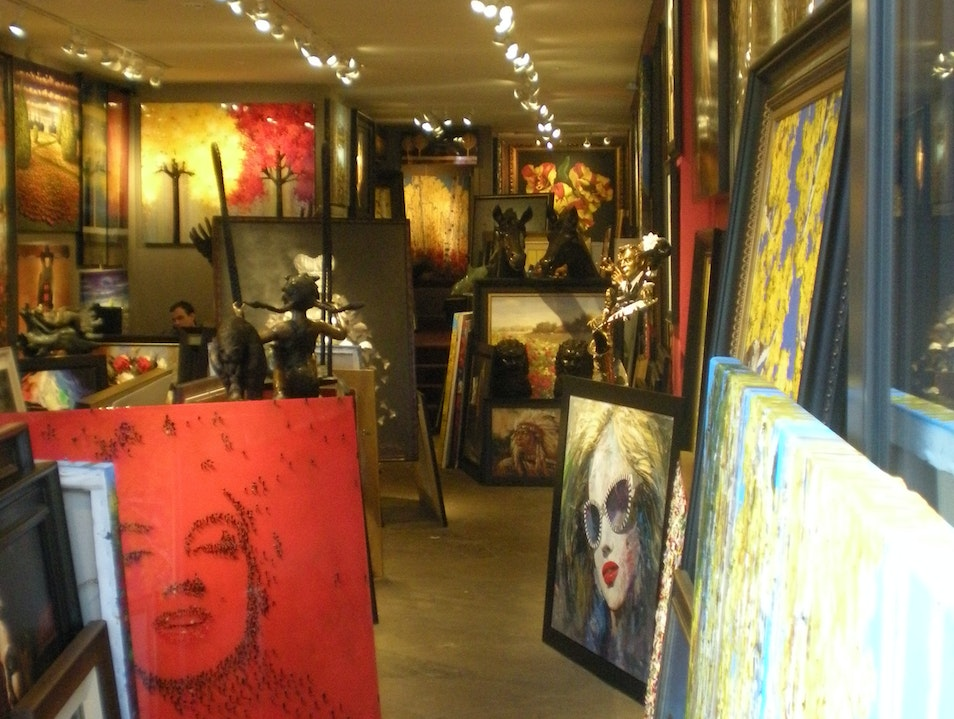 An Eclectic Collection at Royal Street Fine Art
