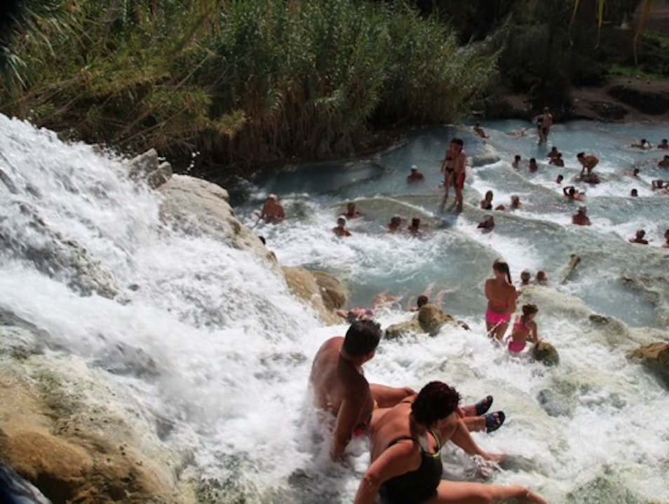 Take a Dip in the Hot Springs in Tuscany Saturnia  Italy