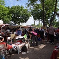 MauerPark flea market Berlin  Germany