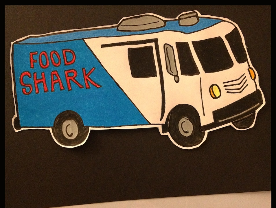 A Great Bang for Your Bite: Food Shark Truck in Marfa Marfa Texas United States