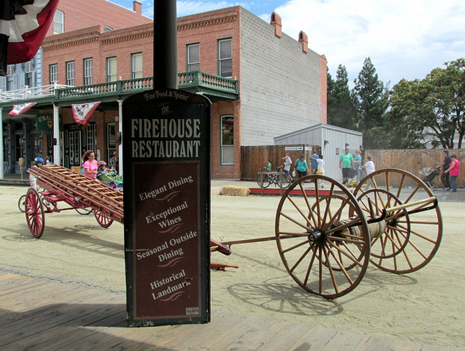 Historic Fine Dining in Old Sacramento Sacramento California United States