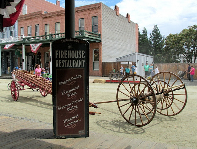 Historic Fine Dining in Old Sacramento